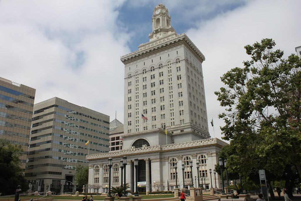 Oakland City Hall in the daytime